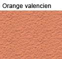 enduit à la chaux, teinte: Orange valencien