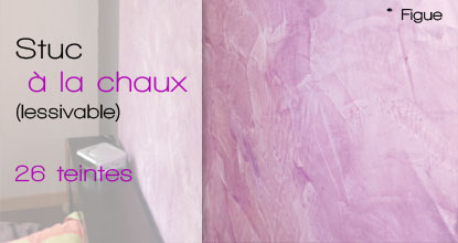 badistuc stuc enduit la chaux ou badigeon 26 couleurs. Black Bedroom Furniture Sets. Home Design Ideas