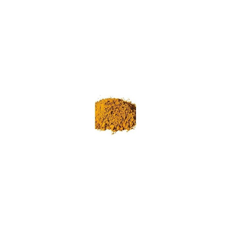Pigment minéral, teinte: Ocre jaune de puisaye
