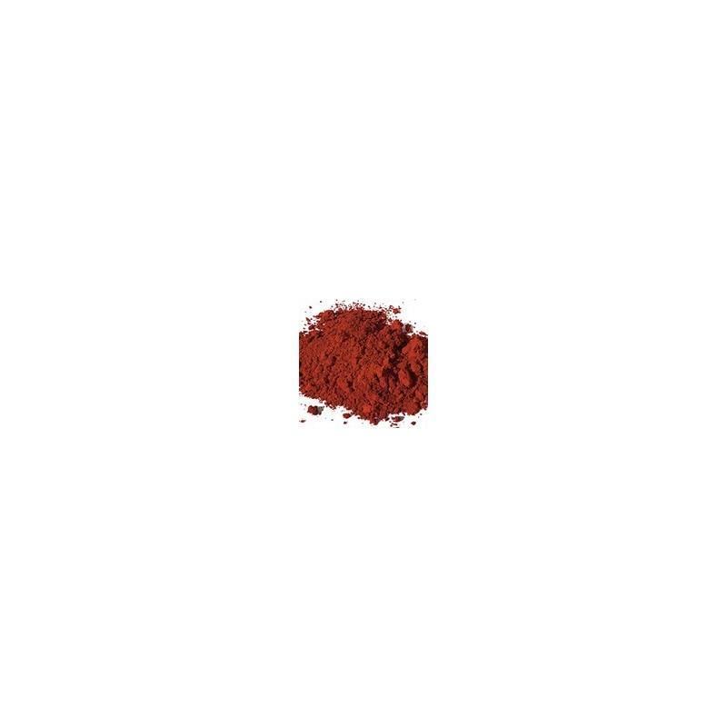 Pigment minéral, teinte: Ocre rouge apt