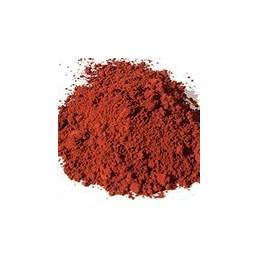 Pigment minéral, teinte: Ocre rouge de puisaye