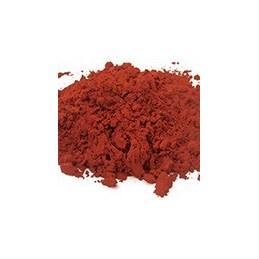 Pigment minéral, teinte: rouge de venise