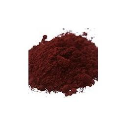 Pigment minéral, teinte: rouge van dyck