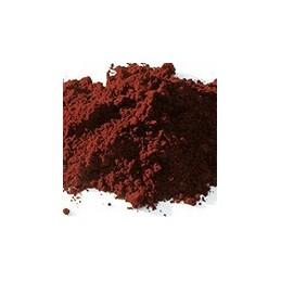 Pigment minéral, teinte: rouge vif madras
