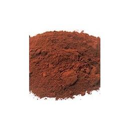 Pigment minéral, teinte: Rouge de pouzolle