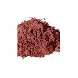 Pigment minéral, teinte: sienne calcinée