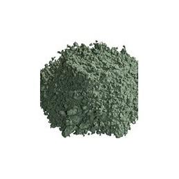 Pigment minéral, teinte: terre verte de bentonico