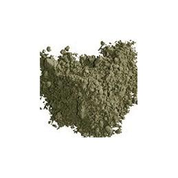 Pigment minéral, teinte: vert bronze