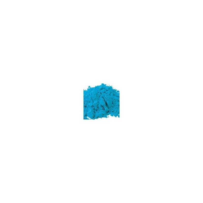 Pigments synthétiques organiques: Bleu azur