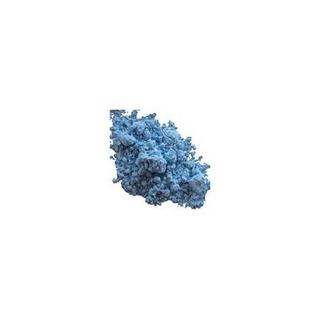 Bleu turquoise céramique et émaux
