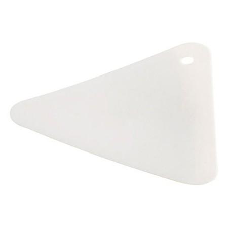 Spatule triangulaire pour gel