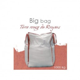 Big bag enduit monocouche terre rouge du royans 1000 kg