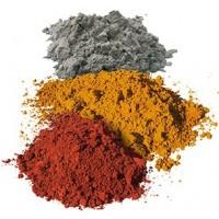 Pigments naturels minéraux